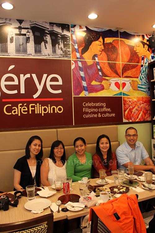 Serye Cafe Filipino Quezon City Circle